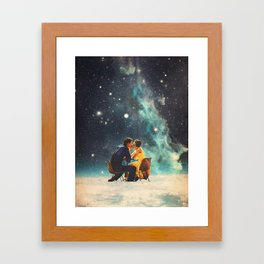 I'll Take you to the Stars for a second Date Framed Art Print
