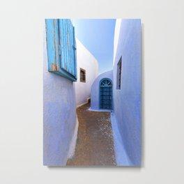 Mediterranean blue Metal Print