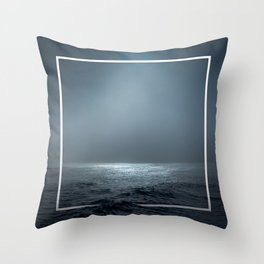 Twilight Geometry Throw Pillow