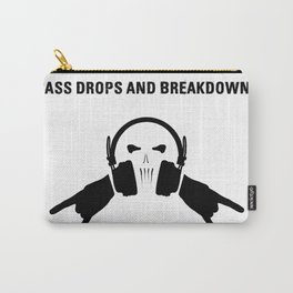 Bass Drops And Breakdowns Carry-All Pouch