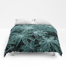 Raindrops III Comforters