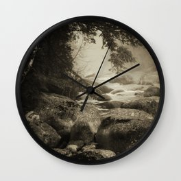 Mountain Brook Wall Clock