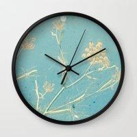 dance Wall Clocks featuring Dance by Cassia Beck