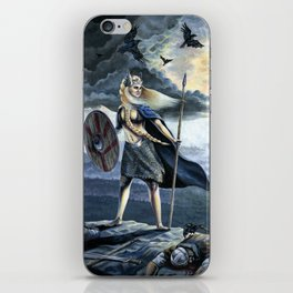 Valkyrie and Crows iPhone Skin