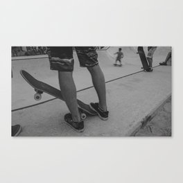 Skateboard 3 Canvas Print