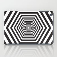 hexagon iPad Cases featuring Hexagon by Vadeco