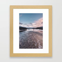 Icefields Parkway, AB IV Framed Art Print