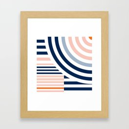 Connecting lines 3. Framed Art Print