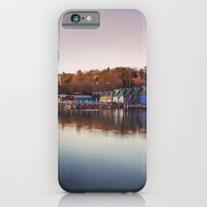 Dawn at the lake iPhone 6s Slim Case