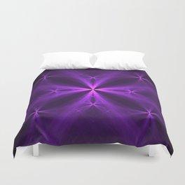Purple Swag Duvet Cover