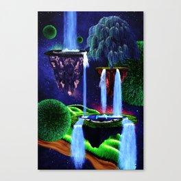 Spacefall Canvas Print