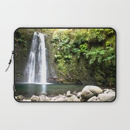 lime green waterfall Laptop Sleeve