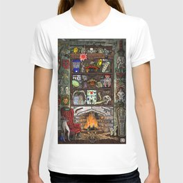 Creepy Cabinet of Curiosities T-shirt