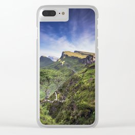 Mesmerized By the Quiraing III Clear iPhone Case