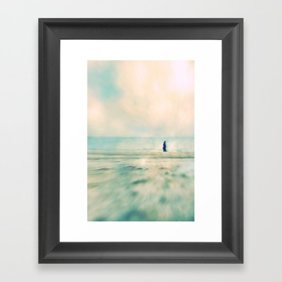 walk II Framed Art Print