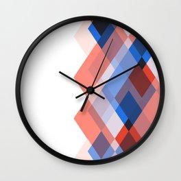Lou Kirsten Diamond Series - Sapphire Wall Clock