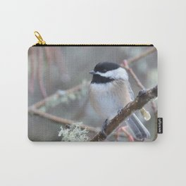 Chickadee in the Alder Tree Carry-All Pouch