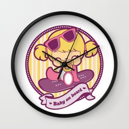 Baby on board Wall Clock