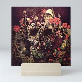 Bloom Skull Mini Art Print
