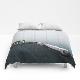 into the ocean Comforters
