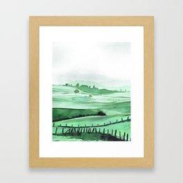 French Countryside Framed Art Print