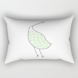 Kiwi bird print Rectangular Pillow