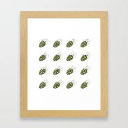 Hops Framed Art Print