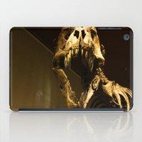 t rex iPad Cases featuring T-Rex by Vito Fabrizio Brugnola