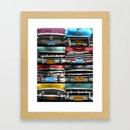 Cuba Car Grilles - Vertical Format  Framed Art Print