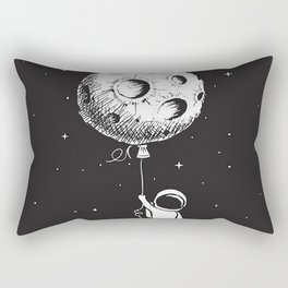 Fly Moon Rectangular Pillow