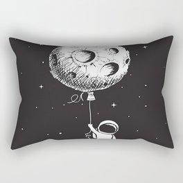 Fly Moon Rectangular Pillow