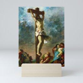 12,000pixel-500dpi - Eugene Delacroix - Christ On The Cross - Digital Remastered Edition Mini Art Print