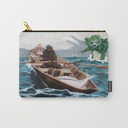 """Winslow Homer's """"Storm Warning"""" Revisted Carry-All Pouch"""