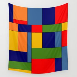 Abstract #348 Wall Tapestry