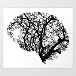 Brain Tree Art Print