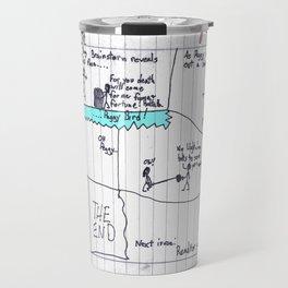 Max Morrocco: Issue 4 Travel Mug