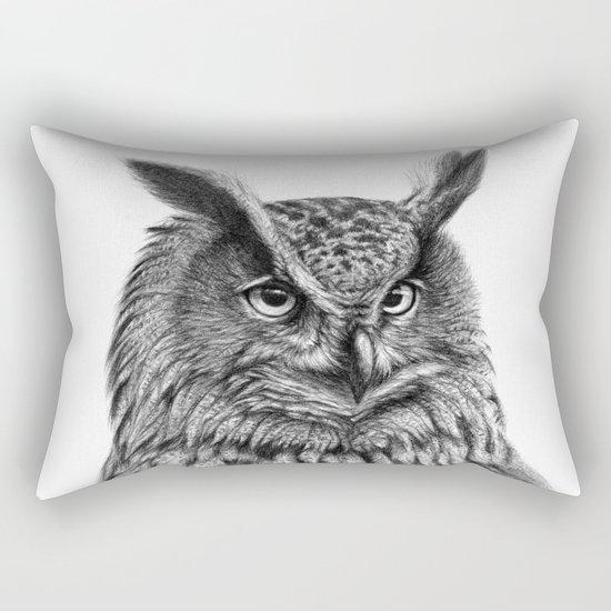 Eurasian Eagle Owl Rectangular Pillow