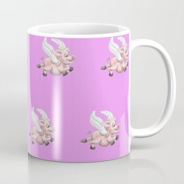 flying pigs pink Coffee Mug