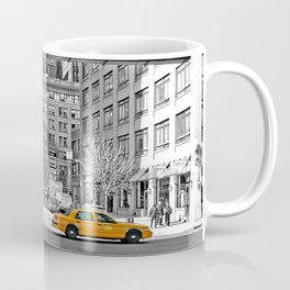 NYC - Yellow Cabs - Fish Market Coffee Mug