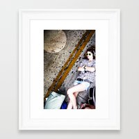 puerto rico Framed Art Prints featuring Puerto Rico Dreams by Halamo Designs