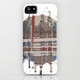 Waterlogged -  splash iPhone Case