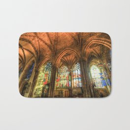 Winter Sun Cathedral Bath Mat