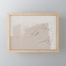 Femme Framed Mini Art Print