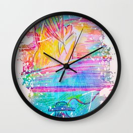 Don't Ever Lose Your Sense of Wonder Wall Clock