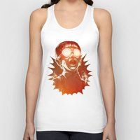scary Tank Tops featuring FIREEE! by Dr. Lukas Brezak