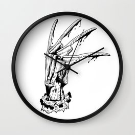Krueger glove Wall Clock