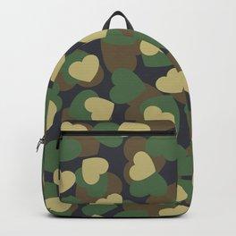 Heart Camo WOODLAND Backpack
