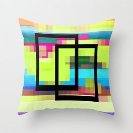 Time and Place Throw Pillow