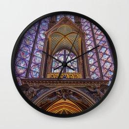 Sainte Chapelle - Paris Wall Clock