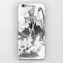 Underwater shackled wraith iPhone Skin